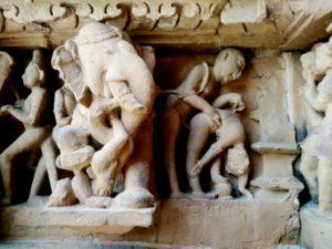 erotic sculptures at Khajuraho 3