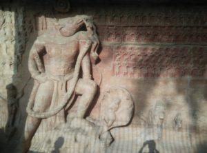 Varaha avtar at Udayagiri caves