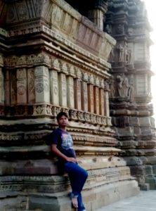 Visit to Khajuraho temple