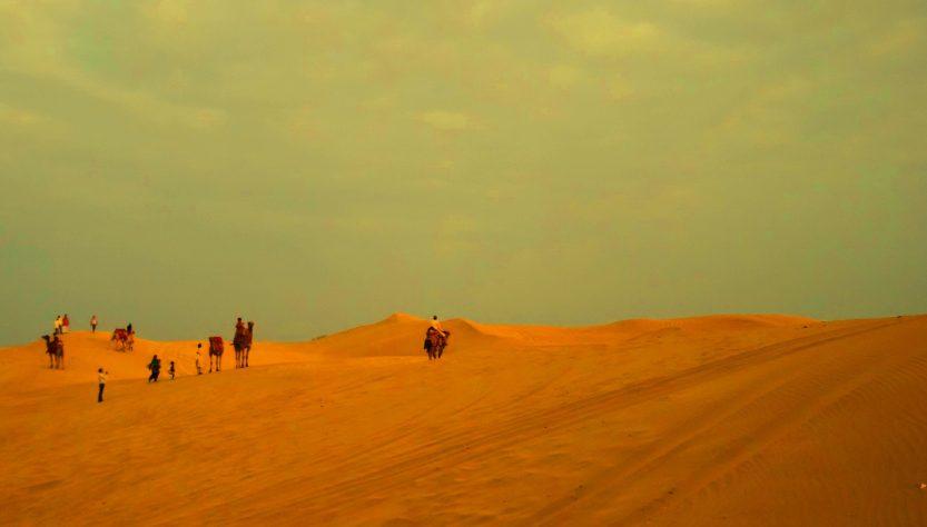 trip to Sam sand dune of Jaisalmer