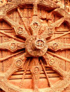 Sun wheel of Konark sun temple