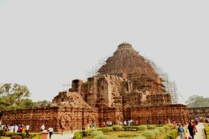 Konark sun temple architecture
