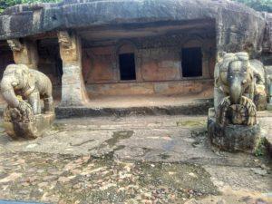 Ganesh Gumfa on Udayagiri hill in Bhubaneshwar