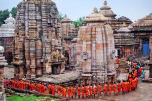 Ancient Lingaraj temple bhubaneswar