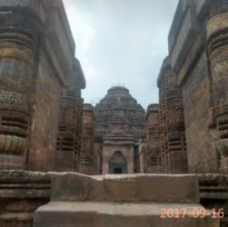 Sculptures at Konark Sun Temple