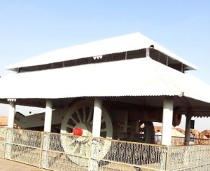 biggest cannon on wheel at Jaigarh fort
