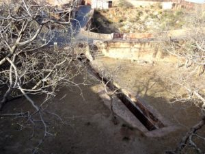 Water canal system at Jaigarh fort