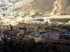 Amer fort from Jaigarh Fort