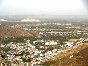 view of city from Jaigarh fort