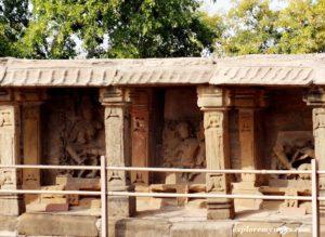statue of yoginies in 64 yogini temple