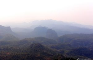 View from Dhupgarh of valleys