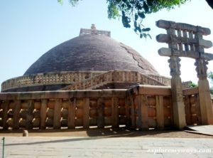 Great Sanchi Stupa near vidisha