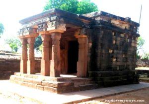 Hindu temple at Sanchi