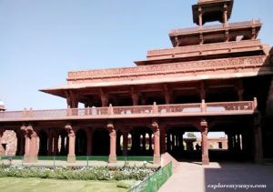 Panch Mahal in Fatehpur sikri fort
