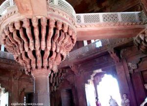 Diwan-e-Khas in Fatehpur Sikri fort-2