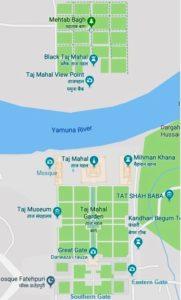 Taj Mahal architecture plan