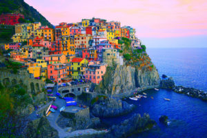 Colourful village of Cinque Terre