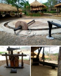 Historical tools used for farming and day to day life