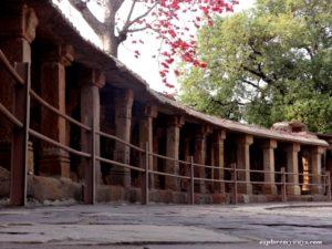 64 Yogini temple at Bhedaghat town near Jabalpur