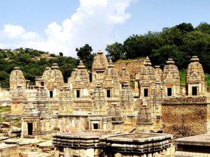 Bateshwar group of temples near Gwalior