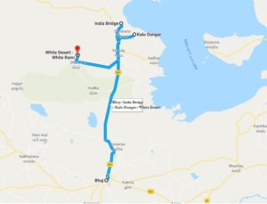 Rann of Kutch map