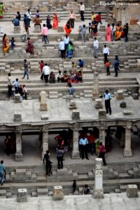 famous step well of Patan