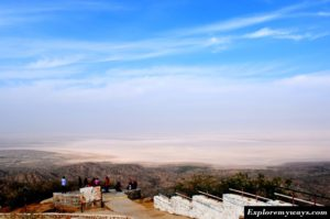 View point at Kalo Dungar hill