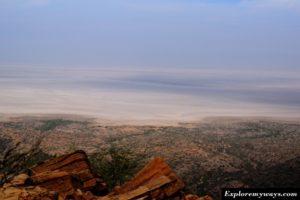 white desert view from Kalo dungar hill