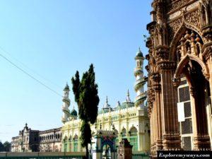 Historical buildings in Jungarh city of Gujarat