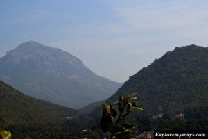 Girnar peak height 1110 meter