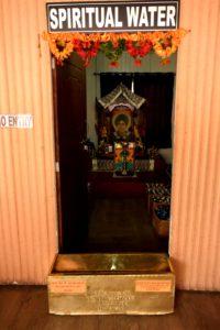 sacred water at Baba Mandir, Sikkim