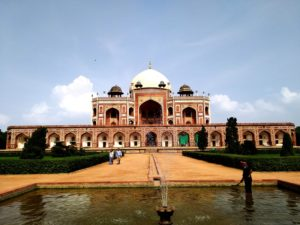 Tomb of Humayu, historical monument in Delhi