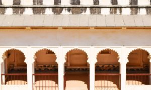 Zenana section of Kumbha Palace