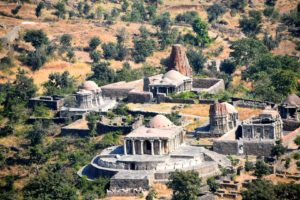 Ancient temple in Kumbhalgarh fort
