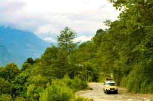 Siliguri to Gangtok journey