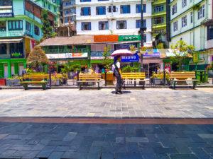 shopping in Gangtok MG Market