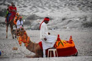 Activities at Dwarka Beach